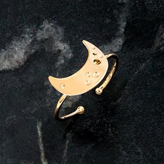 Ring La Nuit - Croissant de lune
