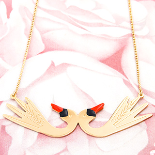 Necklace - Cygnes