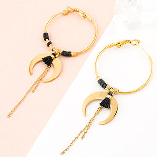 Hoop earrings - Mikazuki