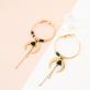 Hoop earrings - Mikazuki