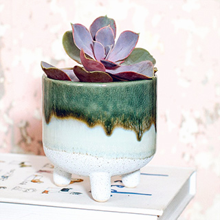 Small planter - Mojave (green)