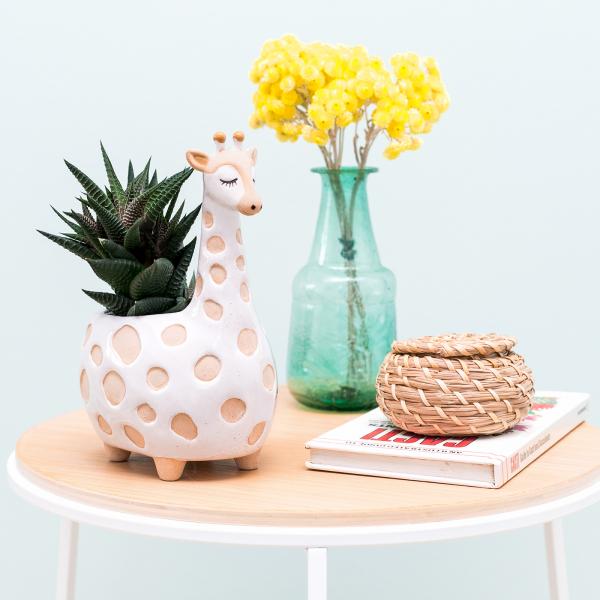 Ceramic planter - Gina giraffe