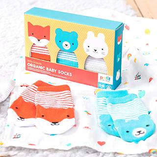 Baby socks gift set