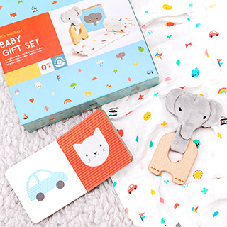 Baby gift set - Little elephant