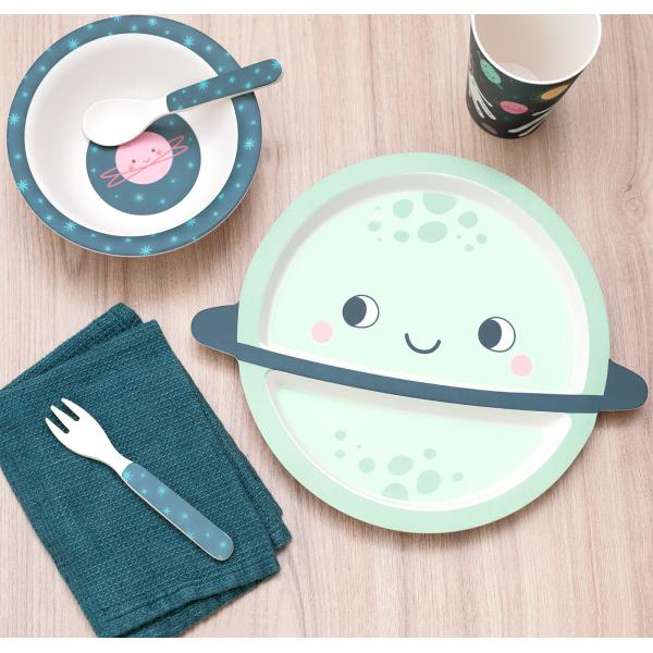 Dinner set for kids - Space explorer