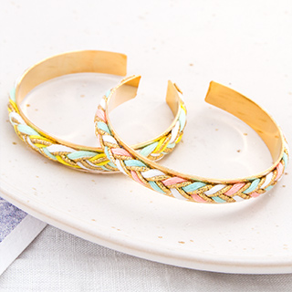 Bangle bracelet - Rhodes (pastel)