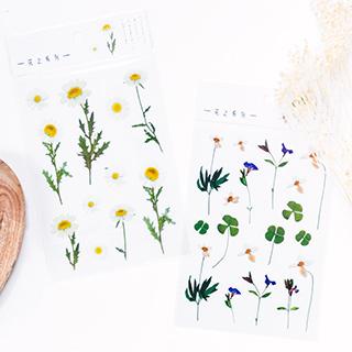 Stickers - Garden flowers
