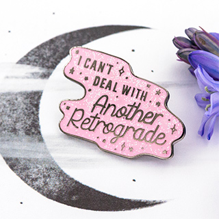 Pin's - Another retrograde