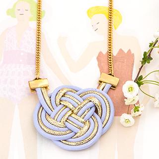 Necklace - Gold nod