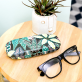 Glasses case - Variegated leaves