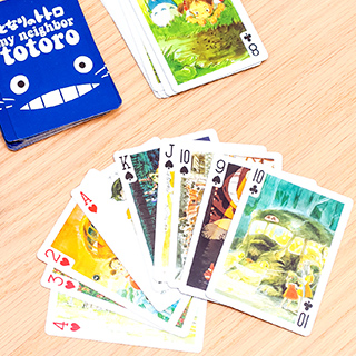 Playing cards - My Neighbor Totoro