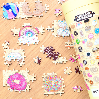 Jigsaw puzzle - Donut lover