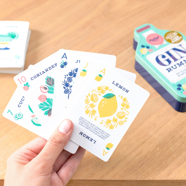 Playing cards - Gin lover
