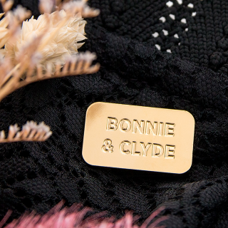 Pin's Titlee - Bonnie & Clyde