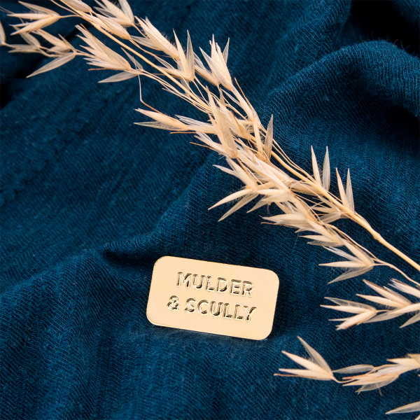 Pin's Titlee - Mulder & Skully
