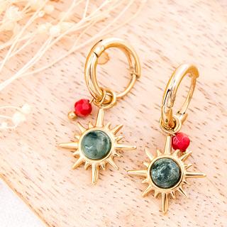 Hoop earrings - Arrina