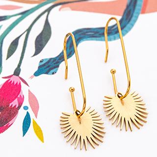 Hoop earrings - Manutea
