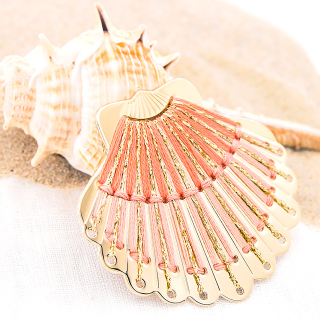 Large brooch - Seashell