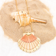 Long necklace - Seashell