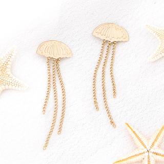 Earrings - Jellyfish