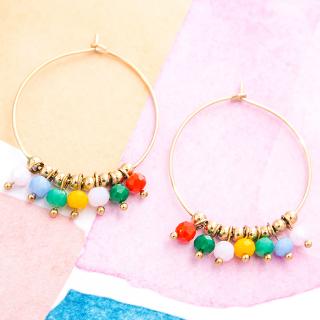 Hoop earrings - Holi