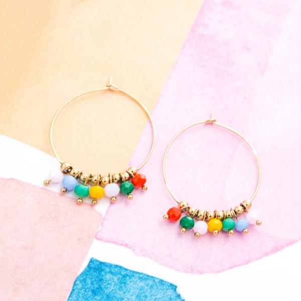 Hoop earrings - Maja