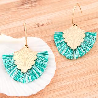 Hoop earrings - Yemaya