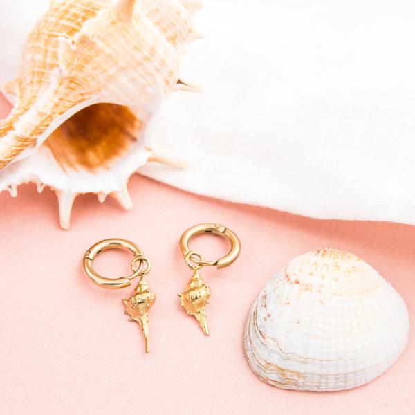 Hoop earrings - Maoa