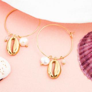 Hoop earrings - Anaa