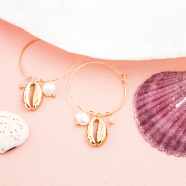 Hoop earrings -