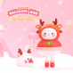 Kawaii collectible figure - Bobo & Coco Balloon land