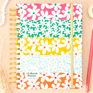 Agenda ban.do - Daisies 2020 - 2021 (medium)