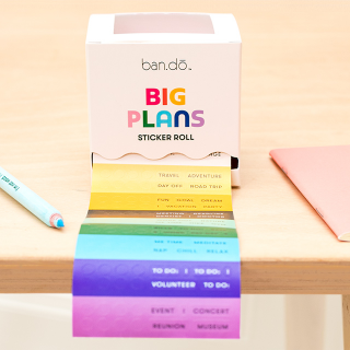 Sticker roll ban.do - Big plans (v.1)