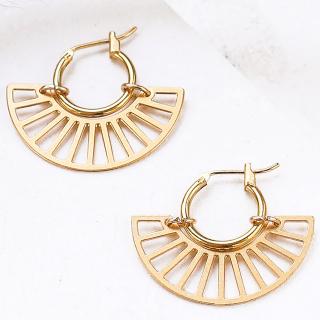 Hoop earrings - Oasis