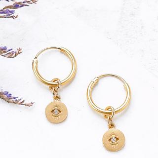 Hoop earrings - Albi