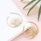 Hoop earrings - Palm