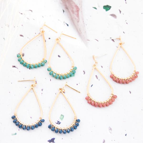 Hoop earrings - Sahara