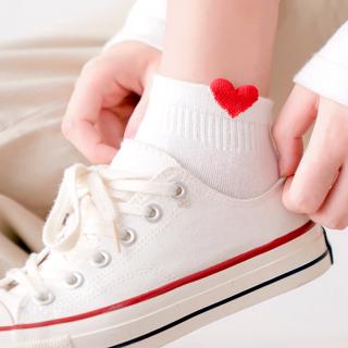 Chaussettes petit coeur