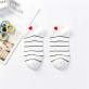 Hankle socks - Marinière et coeur
