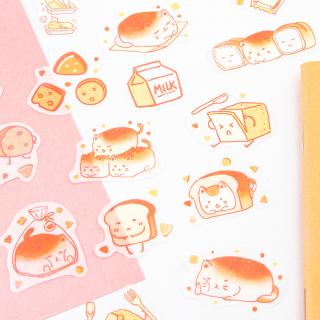 Kawaii stickers - Yummy (cat)
