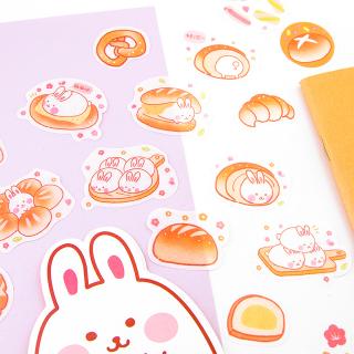 Kawaii stickers - Yummy (bunny)