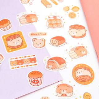 Kawaii stickers - Yummy (bear)