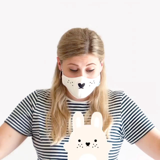 Noodoll face mask - Riceturnip