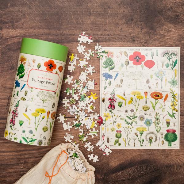 Cavallini & Co. jigsaw puzzle - Fleurs sauvages