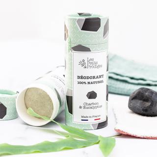 Solid deodorant - Les Petits Prödiges (eucalyptus & charcoal)