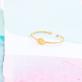 Gold ring - Eye