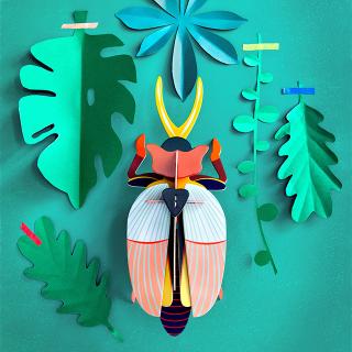 Studio ROOF deco - Mask Lamu