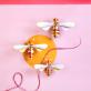 Studio ROOF deco - Honey bees (set of 3)