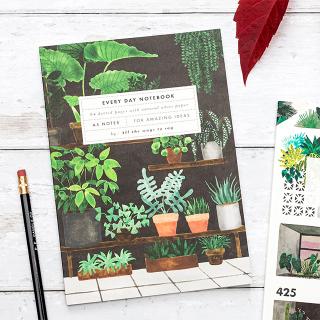 A5 Notebook - Plant shop