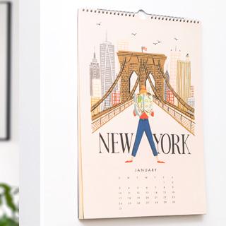 Rifle Paper wall calendar - Explore the world 2021